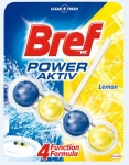 Zawieszka WC BREF POWER ACTIVE 50g Lemon kulki 625197
